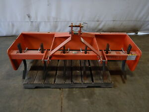 Weathered Land Pride Bb1572 3 point Hitch Box Blade