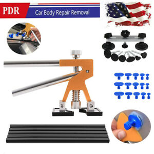 Car Body Paintless Dent Repair Removal Tool Kit Puller Lifter Bridge Tool Kits