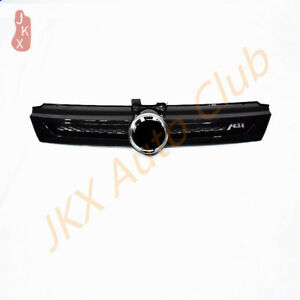 For Vw Golf 7 Abt 2018 2020 Glossy Black Bumper Grille Grill L Sport Style Look