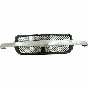 New Grille Assembly For 2001 2002 Silverado 2500 Hd 3500 Gm1200523 Ships Today