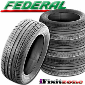 4 New Federal Couragia F x 275 55r19 111v High Performance Suv Traction Tires