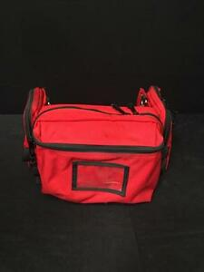 Patient Monitor Bags Large Red