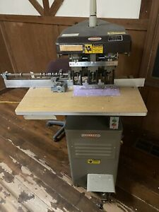 Challenge Eh 3a Heavy Duty Hydraulic Three 3 Hole Paper Drill Multi spindle