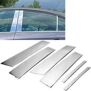 For 2009 2016 Chevy Cruze Stainless Steel Chrome Window Pillar Post Trim Covers