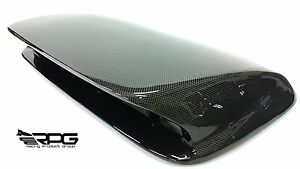 Rpg Sti Large 4 Carbon Hood Scoop Upgrade For 02 03 Subaru Impreza Wrx Sti