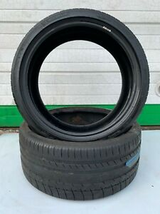 Set Of Two Used Michelin Pilot Sport 235 35 R19