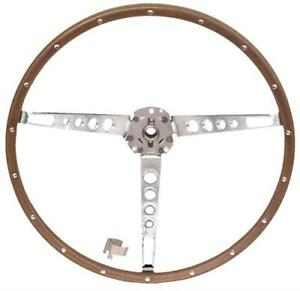 New 1965 1966 Mustang Pony Deluxe Steering Wheel Only