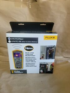 Fluke 279 Fc Iflex True rms Wireless Thermal Imager Multimeter New Free Shipping
