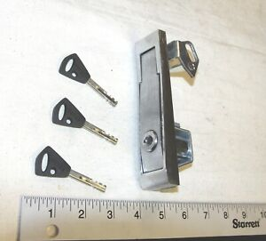 National Vending Machine L Handle Assembly With Abloy Plug Lock And 3 Keys