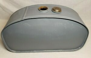 Vtg Early Old Cushman Model T Hot Rod Steam Punk Engine Motorcycle Fuel Gas Tank