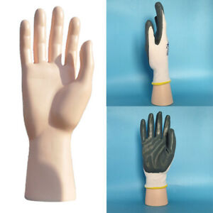 Male Mannequin Hand Display Jewelry Bracelet Ring Glove Watch Stand Skin