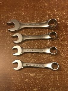 Craftsman Stubby Wrenches 7 16 1 2 9 16 3 4 Usa