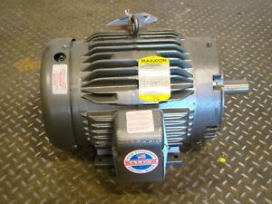 Baldor 10hp Electric Motor 3450rpm 208 230 460v M3771t