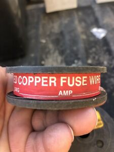 10 Amp Tinned Copper Fuse Wire 200grams