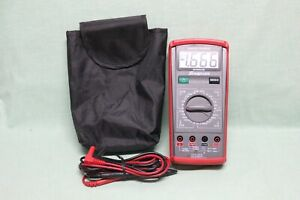 Snap on Eedm503d Manual Ranging Digital Multimeter With Case