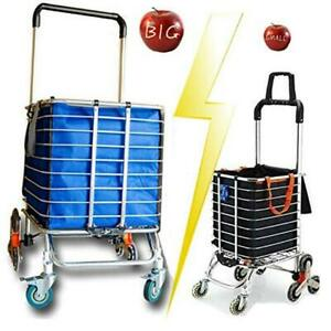 Foldable Jumbo Shopping Cart Portable Shopping Carts For Cart With Basic Bag