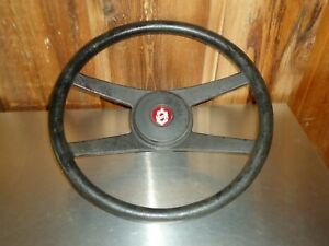 Factory Oem Gm Steering Wheel W Center Horn Button Oldsmobile Olds Starfire