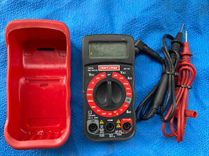 Craftsman Digital Multimeter 82140 As Is Bin 1