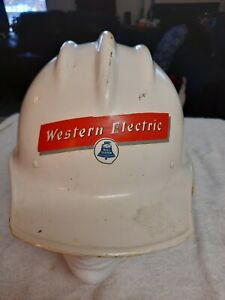 Bullard Hard Hat 502 Hard Boiled With Liner Western Electric Mint Liner nice