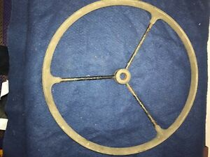 Military Willys Ford Wwii Jeep Steering Wheel
