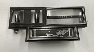 1969 77 C Body Am 8track Radio Faceplate