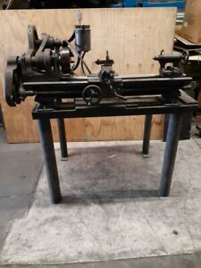 Classic Vintage Antique South Bend 9 Lathe 3 1 2 Bed With Stand