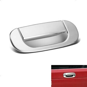 For 1994 2001 Dodge Ram 1500 2500 3500 Chrome Tailgate Handle Covers Overlay