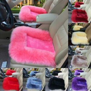 Fuzzy Car Seat Cover Protector Cushion Soft Far Front Seat Plush Universal