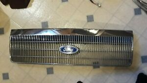 1988 1991 Ford Crown Victoria Vic Ltd Front Grille Grill Oem