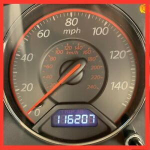 2003 2004 2005 Honda Civic Coupe A T Red 116k Instrument Gauge Cluster 03 05