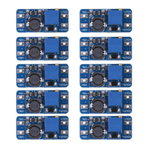 10x Dc dc Step Up Converter Mt3608 Booster Power Supply Module Boost Step up