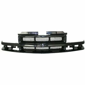 New Grille For 1998 2004 Chevrolet S10 1998 2005 Blazer Gm1200413 Ships Today