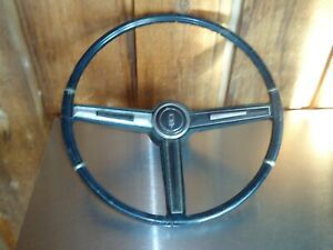 Factory Oem Gm Steering Wheel W Horn Button 1967 Oldsmobile Olds Cutlass 442