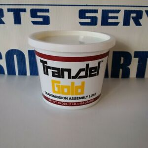 Transjel Gold Manual Transmission Assembly Lube Rebuild Overhaul Grease
