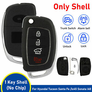 For Hyundai Santa Fe Sonata Tucson I40 Car Remote Key Replacement Fob Shell Case