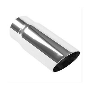 3 Exhaust Tip Magnaflow 10 Lengt Double Wall Performance Polished Ss Round
