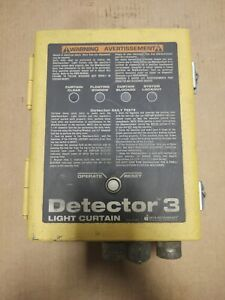Data Instruments Detector 3 3lc b Light Curtain Used Working h5