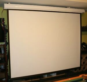 Vutec Lectric I Lectric Iii Electric Projector Screen And Switch