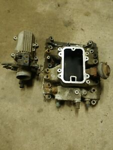 1986 1987 Grand National T Type Buick 3 8 V6 Turbo Intake Manifold And Plenum