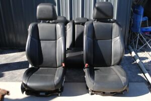 11 19 Dodge Charger Chrysler 300 Front Rear Leather Heated Cooled Memory Seats