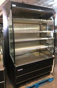 Federal Industrial 47 Vertical Open Air Grab And Go Cooler