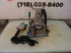 Mcelroy 2lc 2 Inch Pipe Fusion Machine Heater Facer Works Great 5