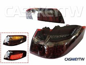 1999 2004 Porsche 911 996 Led Tail Lights Red Smoke One Pair
