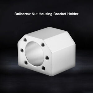 Ballscrew Nut Housing Seat Mount Bracket Holder 28mm Dia For Sfu1604 1605 1610
