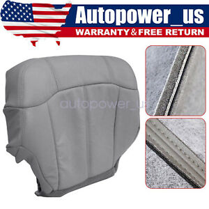 Driver Bottom Replacement Seat Cover Gray 1999 2000 2001 2002 Chevy Silverado