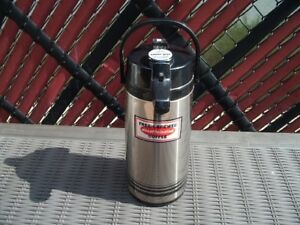 Airpots 84 Oz 2 2 Lt Stainless Steel Lined Coffee Server Dispenser pot