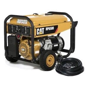 Cat Rp6500 6500w Electric Portable Generator 490 6490