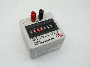 Iet Labs Rs 200 Resistance Substituter 0 9 999 999 Ohm