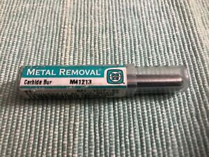 New Metal Removal M41213 Carbide Bur Cylindrical 5 16