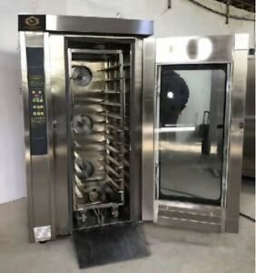 Convection Oven With Steam Timer 12 Trays Gas Model